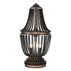 CWI Lighting Kala 13 inch 2 Light Table Lamp with Antique Bronze Finish