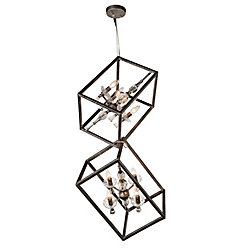 CWI Lighting Tapi 11 inch 8 Light Mini Pendant with Luxor Silver Finish
