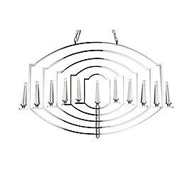 CWI Lighting Calhoun 2 inch 11 Light Chandelier with Chrome Finish