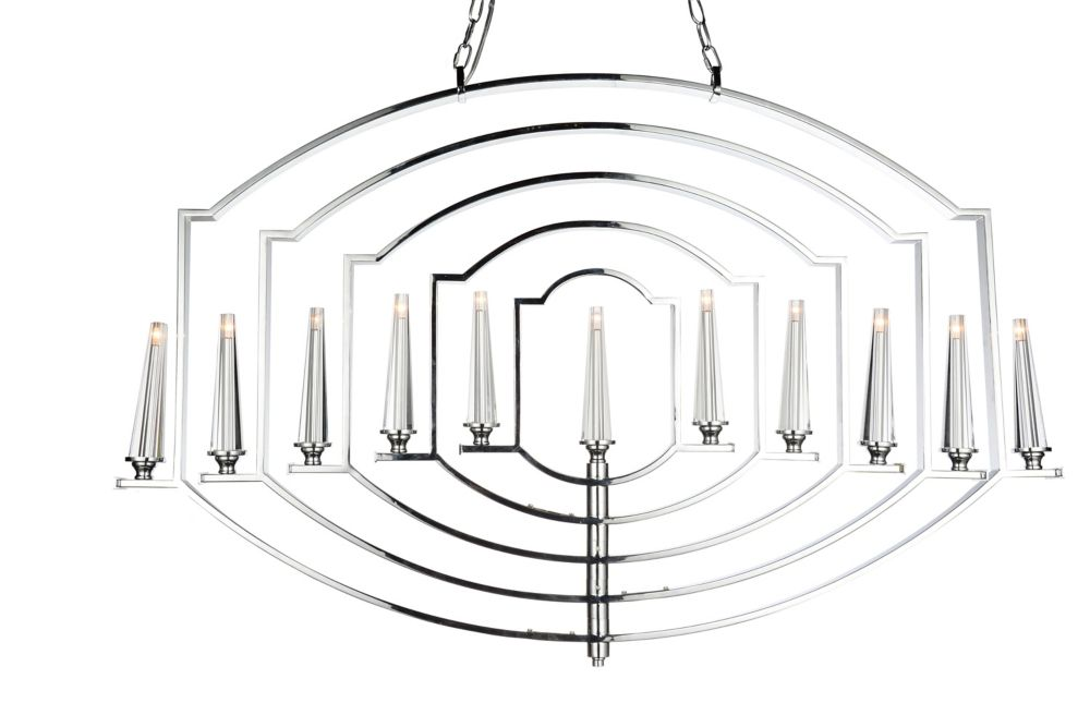 CWI Lighting Calhoun 2 inch 11 Light Chandelier with Chrome Finish