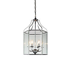 Maury 16 inch 6 Light Chandelier with Chrome Finish