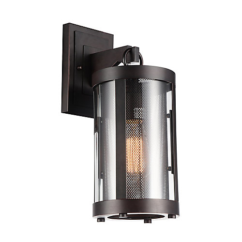 Souris 6 inch 1 Light Wall Sconce with Reddish Brown Finish