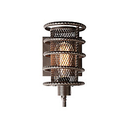 Darya 8 inch 1 Light Wall Sconce with Brown Finish