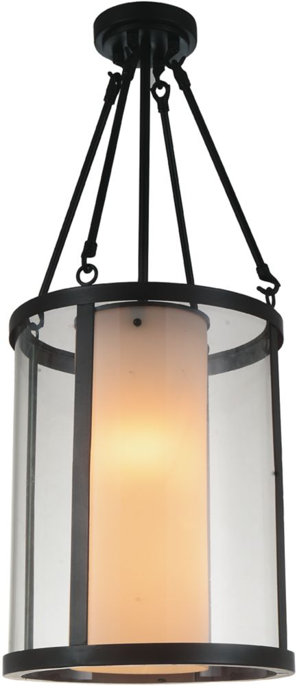 CWI Lighting Danielle 12 inch 2 Light Mini Pendant with Oil Rubbed Brown Finish