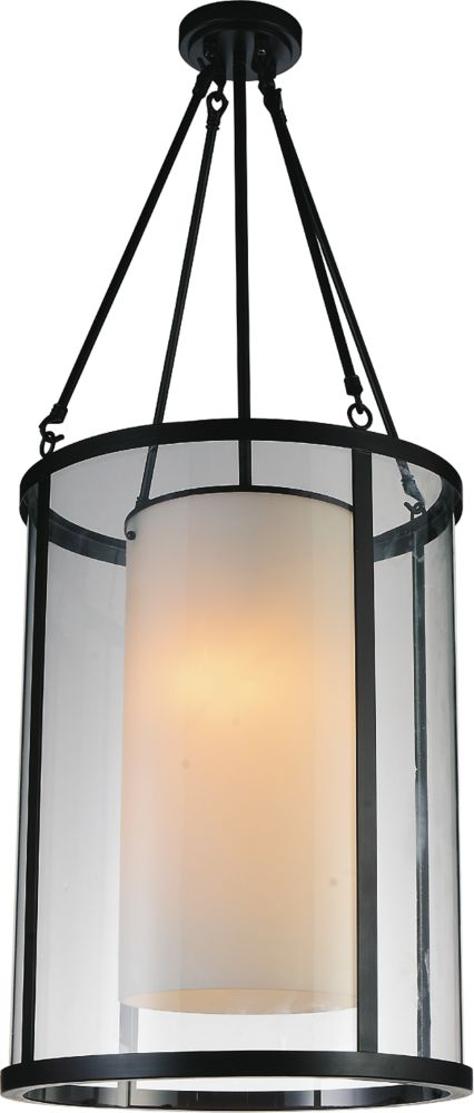 CWI Lighting Danielle 16-inch 2-Light Chandelier with Oil Rubbed Brown Finish