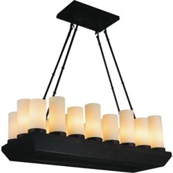 CWI Lighting Danielle 32 inch 18 Light Chandelier with Oil Rubbed Brown Finish