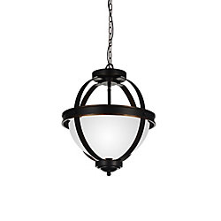 CWI Lighting Irene 14 inch 3 Light Mini Pendant with Autumn Bronze Finish