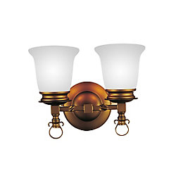 CWI Lighting Reese 14 inch 2 Light Wall Sconce with Champagne Finish