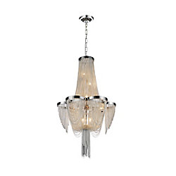 Taylor 14 inch 7 Light Pendant with Chrome Finish