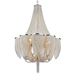 Taylor 34 inch 18 Light Chandelier with Chrome Finish