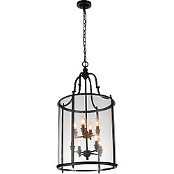 CWI Lighting Desire 17 inch 8 Light Chandelier with Oil Rubbed Bronze Finish