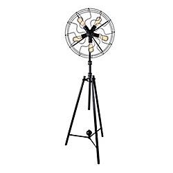 Pamela 20 inch 5 Light Floor Lamp with Black Finish