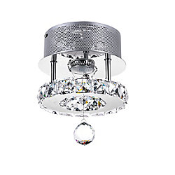 Ring 7 inch LED Flush Mount with Chrome Finish