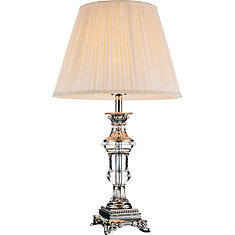 Cwi Lighting Yale 14 Inch 1 Light Table Lamp With Brushed Nickel