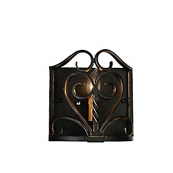 Branch 4 inch 1 Light Wall Sconce with Autumn Bronze Finish