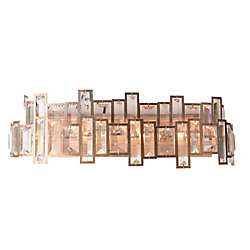 Quida 5 inch 4 Light Wall Sconce with Champagne Finish