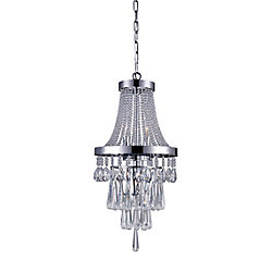 Vast 12 inch 3 Light Chandelier with Chrome Finish
