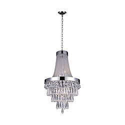 Vast 20 inch 7 Light Chandelier with Chrome Finish