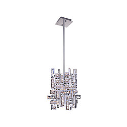 Arley 6 inch 1 Light Pendant with Chrome Finish
