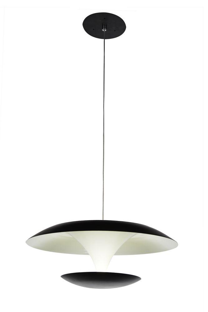 CWI Lighting Aviva 16 inch LED Chandeleir with Bright Nickel Finish