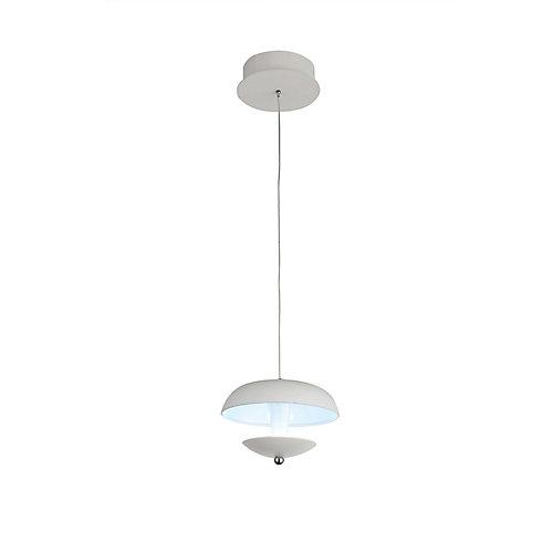 Aviva 5 inch LED Pendant with White Finish