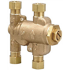 Thermostatic Mixing Valve 3/8 inch Lead Free