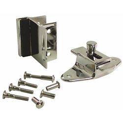 STRYBUC INDUSTRIES Slide Latch And Bumber Keeper Set For Laminate Door With Screws