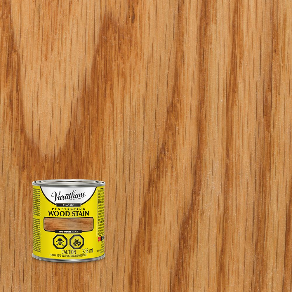 Varathane Classic Penetrating Wood Stain Ipswich Pine 236ml