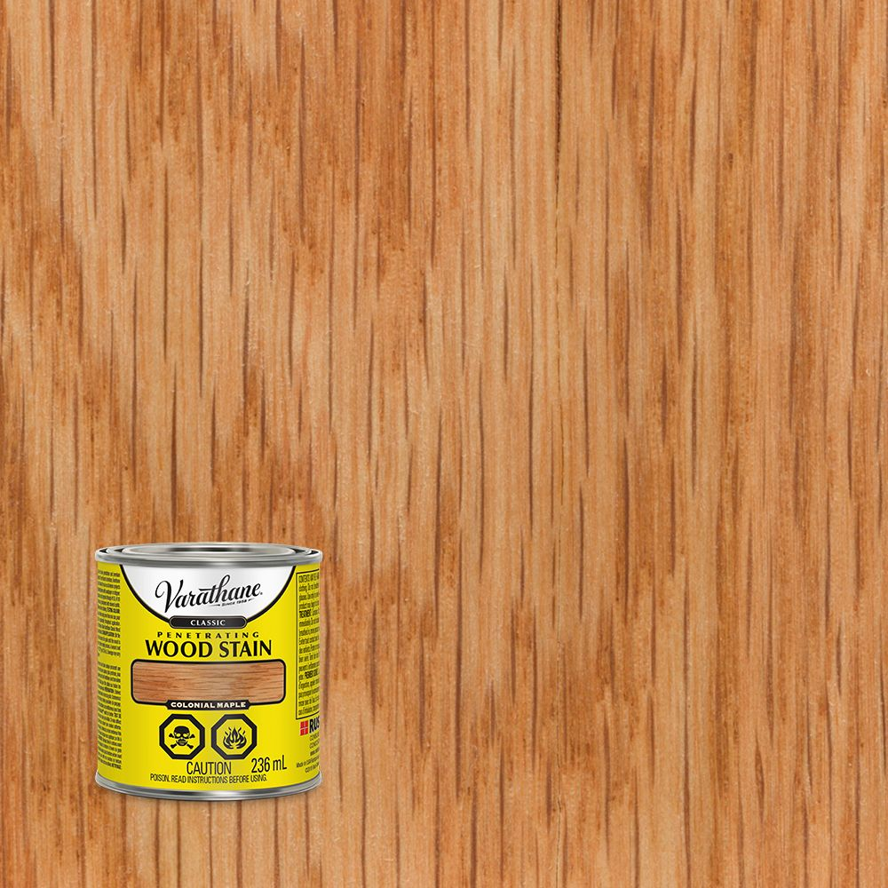 Varathane Varathane Classic Penetrating Wood Stain Colonial Maple 236ml