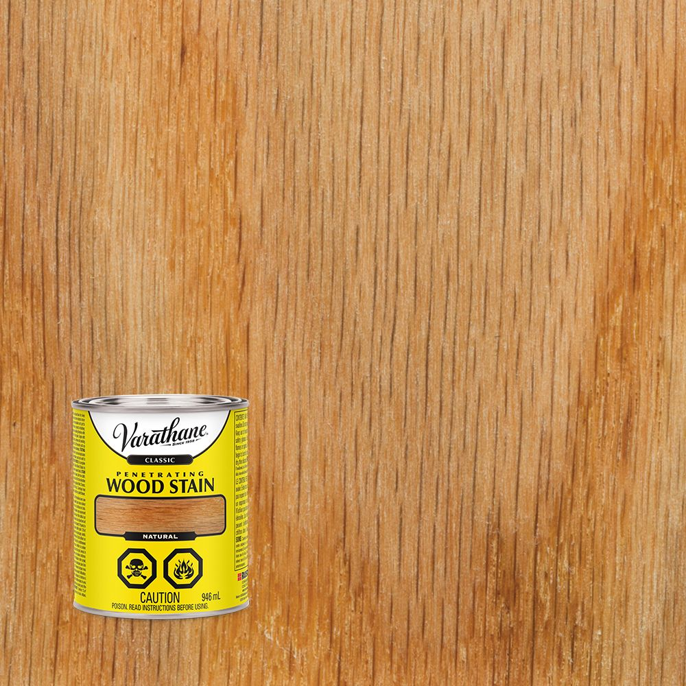 Varathane Classic Penetrating Wood Stain Natural 946ml