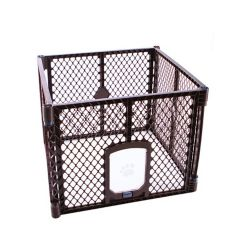 My Pet 4-Panel Petyard Passage - Brun