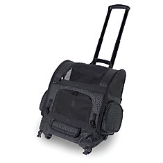 RC1000 Roller-Carrier Pet Carrier Black Geometric