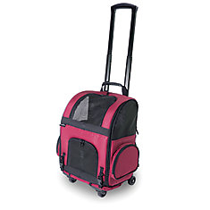 RC1000 Roller-Carrier Pet Carrier Red Geometric