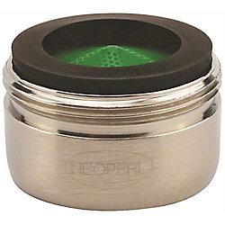 NEOPERL Male Aerator, 1.5 Gpm Water Saving, 15/16 In. -27, Brushed Nickel