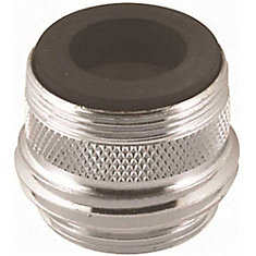 Neoperl Aerator Hose Adapter, Dual Thread X Male 3/4 In., Lead Free