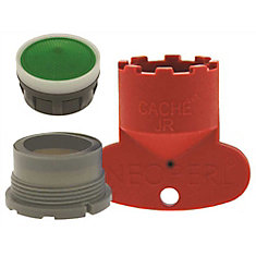 Delta Replacement Cache Aerator Kit 1.5 GPM Water Saving