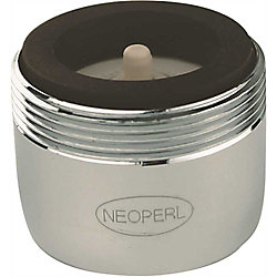 NEOPERL Auto Clean 1.5 GPM Regular Dual Thread 15/16 In.-27 X 55/64 In.-27, Chrome