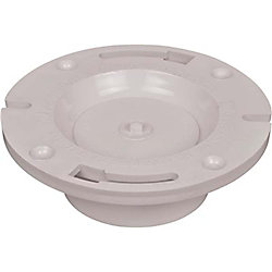 IPS Corporation DWV Pvc Schedule 40 Closet Flange 4 inch X 3 inch