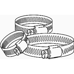 Breeze Clamp Breeze Mini Hose Clamp, Stainless Steel, 7/32 inch. To 5/8 inch, (10-Pack)