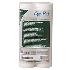 Ap110 Standard Diameter 5 Micron Dirt/Rust Filter Cartridge, (2-Pack)