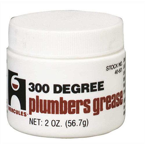 300 Degree Plumbers Grease Stem Lubricant 2 Oz.