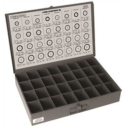 Danco Company 192-Piece Assorted O-Ring Kit, Sizes 51/64-inch to 1 7/16-inch in Storage Box