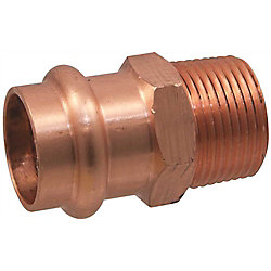 Nibco Press Male Adapter 3/4 inch