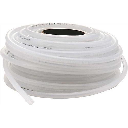 Poly Tubing 1/4 inch Id X 3/8 inch Od, 100 ft.