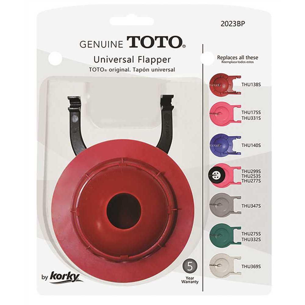 Korky Genuine Toto Flapper, 3 inch