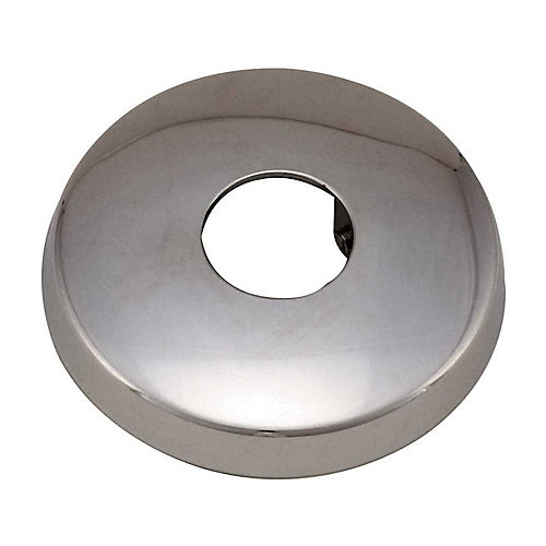 Shower Flange With Set Screw, 1/2 inch Chrome