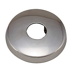 Proplus Shower Flange With Set Screw, 1/2 In., Chrome
