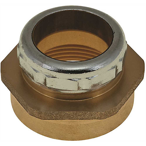 Trap Connector, 1-1/4-inch Od X 1-1/2-inch Fip