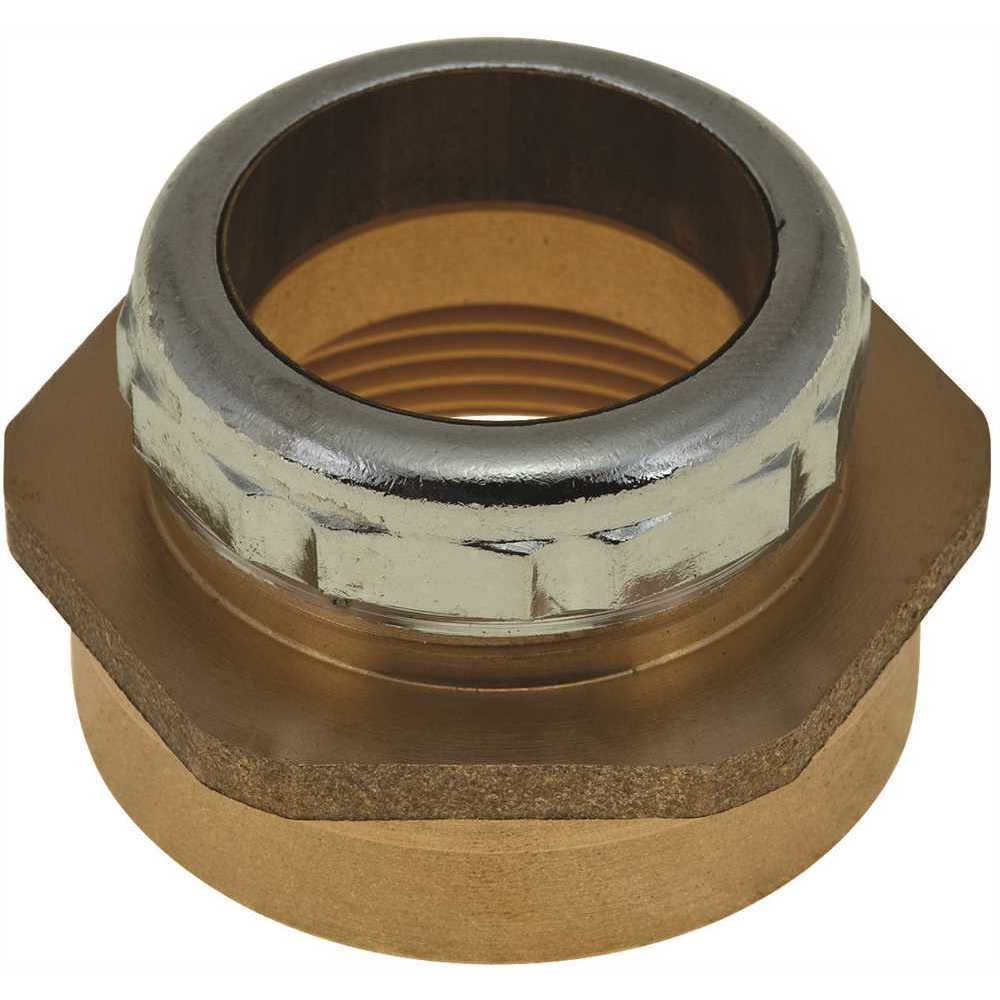 Durapro Trap Connector, 1-1/4 inch Od X 1-1/2 inch Fip