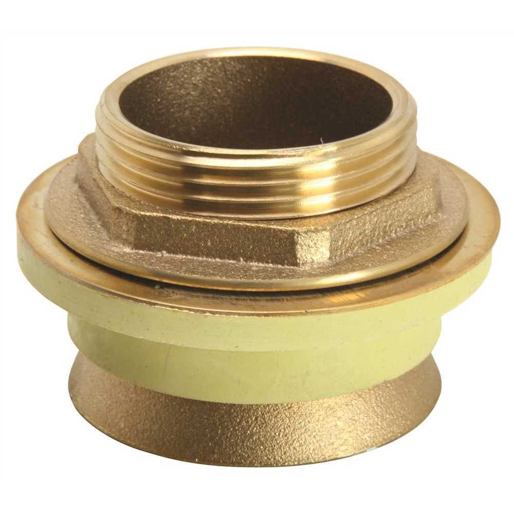 Brass Spud Complete, 1-1/4 inch X 3/4 inch, # 5